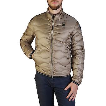 Blauer Original Men Fall/Winter Jacket - Brown Color 35681