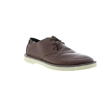 Camper Morrys  Mens Brown Leather Casual Lace Up Oxfords Shoes