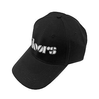 The Doors Baseball Cap Classic Band Logo new Official Black Strapback