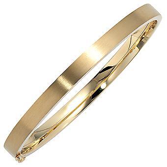 Rannerengas rannekoru soikea 333 kulta keltainen kulta matta kulta rannerengas plug-in kiinnitin