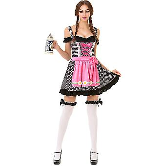 Oktoberfest Beer Maid Adult Costume, S