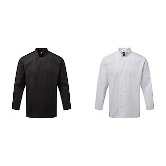 Premier Unisex Adults Chefs Essential Long Sleeve Jacket