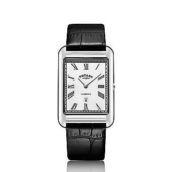 الروتاري GS05280-01 الرجال & ق كامبريدج Oblong ساعة اليد