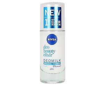 Nivea Milk Beauty Elixir Deo Roll-on 40 Ml Pour les femmes