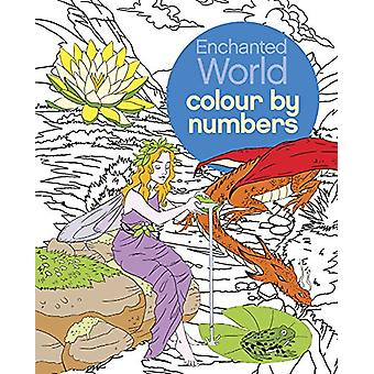 Enchanted World Colour by Numbers by Sara Storino - 9781784283858 Book