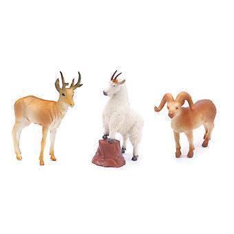 Cabra montés, Ram y ciervos Playset