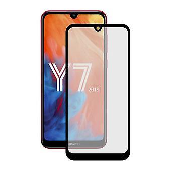 karkaistu lasi mobiili näytönsuoja huawei Y7 2019 yhteystiedot äärimmäinen 2.5D
