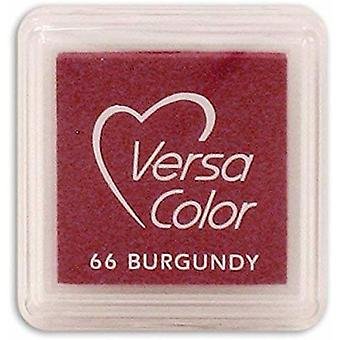 Versasmall Burgandy Red Pigment Small Ink Pad - Pigment Ink Craft Ink