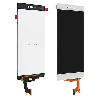 LCD replacement part with touchscreen for Huawei P8 - White