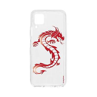Kadłub dla Huawei P40 Lite Soft Red Dragon