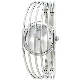 Calvin Klein K9923120 Fly Silver Dial Steel Bangle Ladies Watch