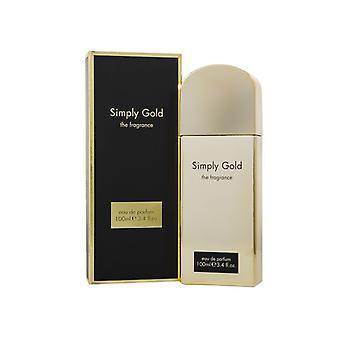 Simply Gold Eau de Parfum 100ml Spray For Her