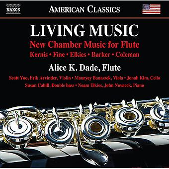 Barker / Dade / Cahill - Living Music [CD] USA import