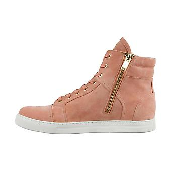 Kenneth Cole New York Mens Double Header Leather Hight Top Zipper Fashion Sneakers