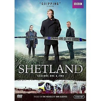 Shetland: Season One & Two [DVD] USA import