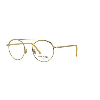 Cutler and Gross 1269 11 Gold Glasses