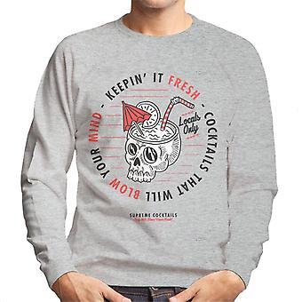 Divide & Conquer Supreme Cocktails Men's Sweatshirt