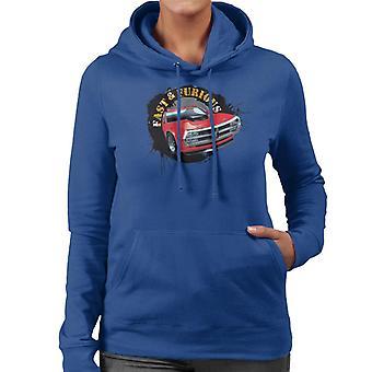 Fast and Furious Car Splatter Women's Hooded Sweatshirt