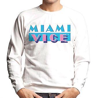 Miami Vice Classic logo heren ' s Sweatshirt