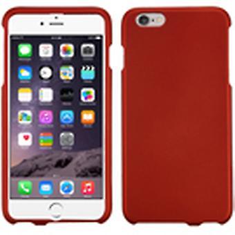 MyBat Titanium Phone Protector Case for iPhone 6 Plus - Solid Red