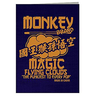Monkey Magic Flying Clouds The Pukiest To Every Pop Greeting Card