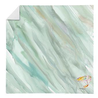 Carolines Treasures SC2065NAP Shrimp #1 sur sage serviette verte