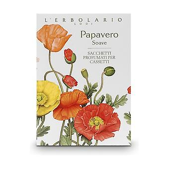 Papavero Soave Scented Sachet for Drawers 1 unit