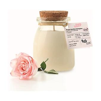 Natural scented candle pink small model 30h 120 g