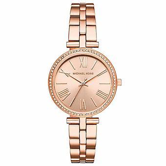 Michael Kors MK3904 Maci Crystal Rose Dial Ladies Watch