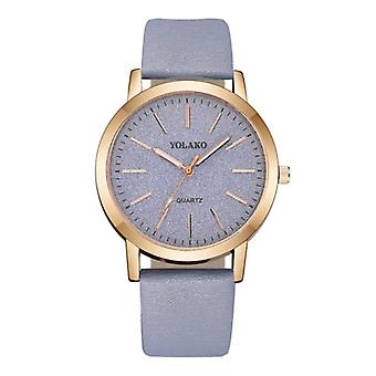 Yolako Quartz Watch Ladies - Anologue Luxury Movement for Women Light Blue