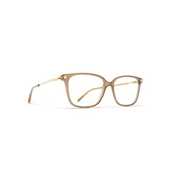 Mykita Inki C7 Taupe-Glossy Gold Glasses