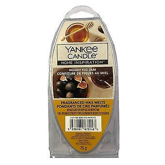Yankee Kynttilä Kotiin Inspiraatio Tuoksuva Vaha Sulaa 75g Honey Fig Hillo