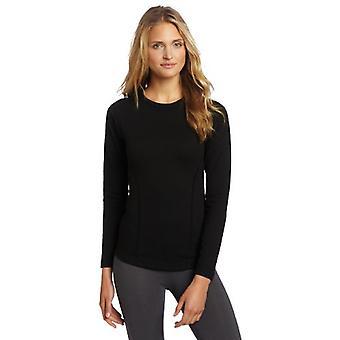Duofold Women's Heavy Weight Double Layer Thermal Shirt, Black, Medium
