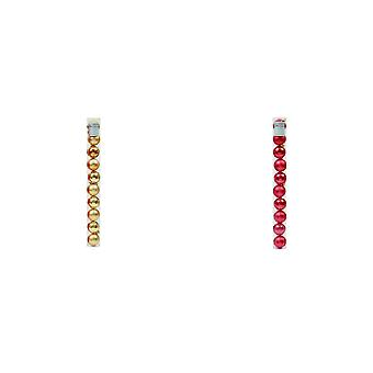 Premier Shiny Shatterproof Christmas Baubles (Pack Of 10)