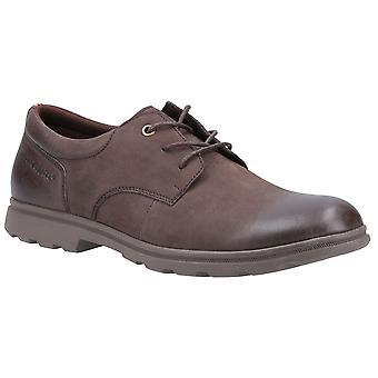 الصمت الجراء الرجال تريفور Nubuck الجلود الذكية الدانتيل حتى الأحذية