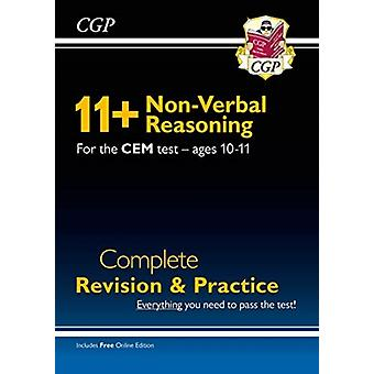 New 11 CEM NonVerbal Reasoning Complete Revision and Practice  Ages 1011 with Online Edition by Books & CGP