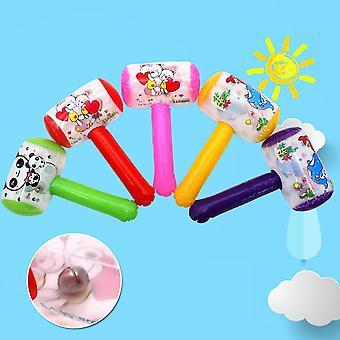 1pc lindo dibujos animados inflable martillo de aire con Bell niños soplar fabricante de ruido