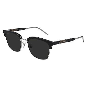 Gucci Asian Fit GG0846SK 001 Black/Grey Sunglasses