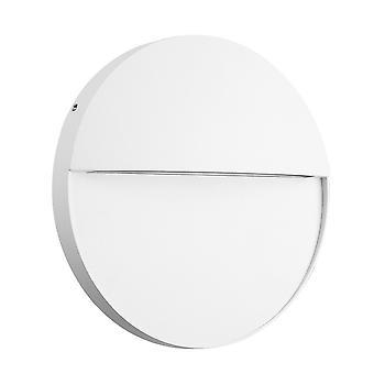 Inspireret Mantra - Baker - Flush Wall Lamp Stor Runde, 6W LED, 3000K, 275m, IP54, Sand White
