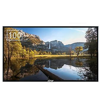 100 Inch Flat Explosion-proof Screen Ultra Hd Android Tv, Led Television 4k