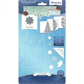 Hunkydory A Sparkling Christmas - Edge It Moonstone Dies