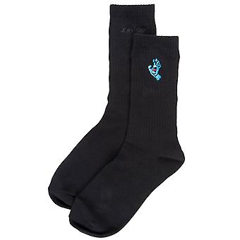 Santa Cruz Screaming Mini Hand Socks - Black