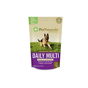 Pet Naturals a Vermont Daily Multi kutyáknak, 30 Chews