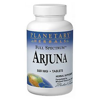 Planetary Herbals Full Spectrum Arjuna, 120 Tabs