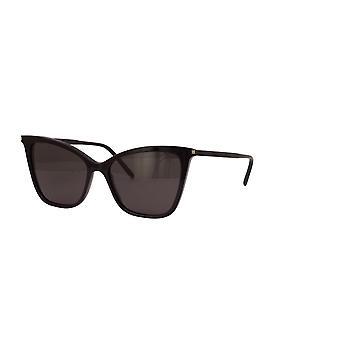Saint Laurent SL 384 001 Musta/Harmaa Aurinkolasit