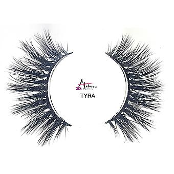 Atchara 3D Real Mink Lashes Luxury Natural False Eyelashes Reusable