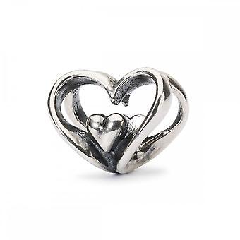 Trollbeads hart naar hart kraal TAGBE-10202