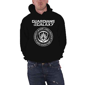 Guardians Of The Galaxy Vol 2 Hoodie Seal logo Official Marvel Mens Pullover