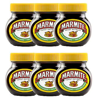 6 x 125g Marmite herzhafte Sandwich Filet Toast Spread Hefe Extrakt Vegan Paste