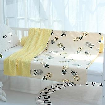 Fabric Baby Minky Cloth/blanket, Quilty Cover Comfort Bedding Duvet Case